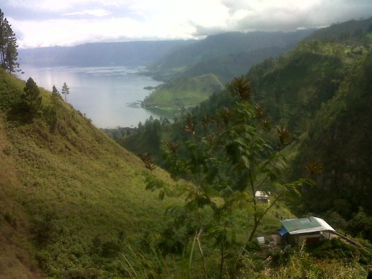 Toba Lake from Sipiso